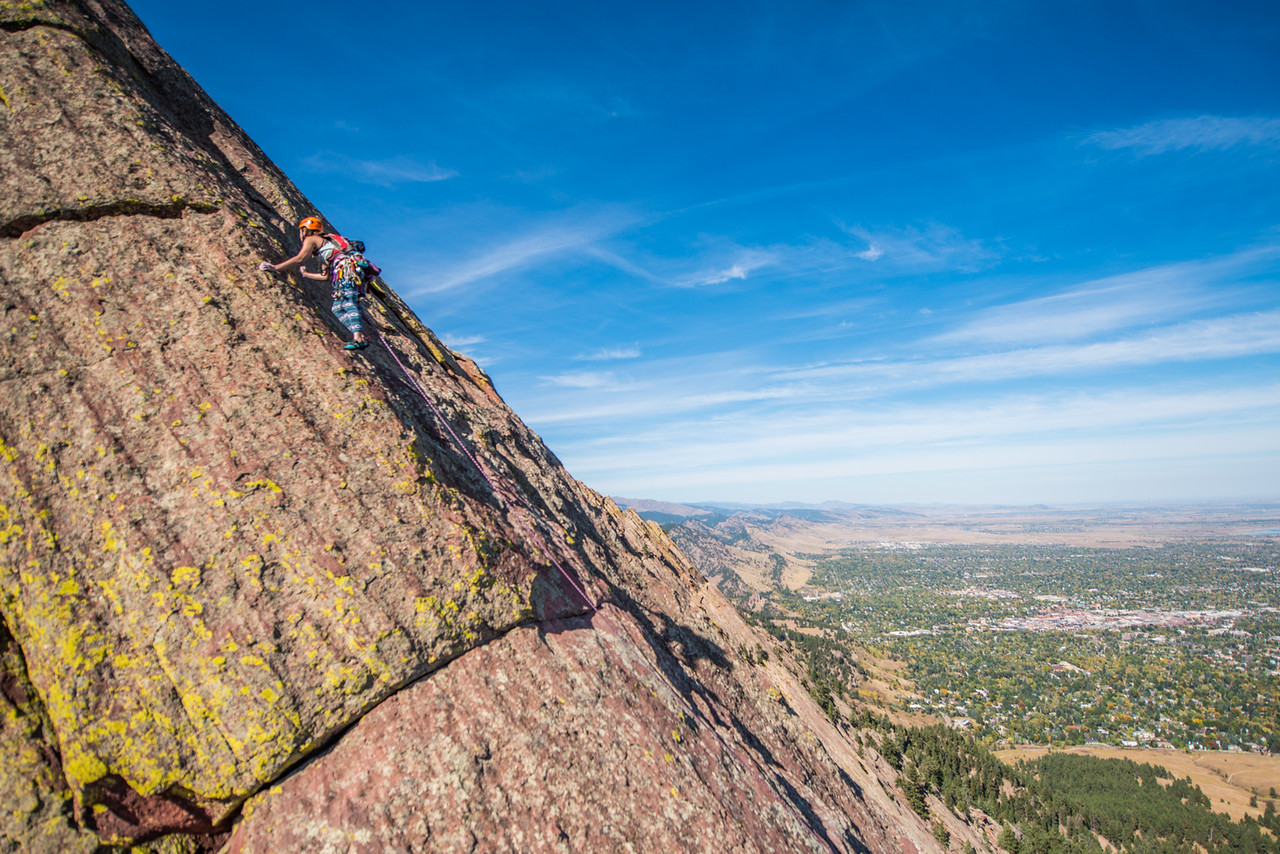 the; 3rd; Flat; Iron; Boulder; 106; Adventure; Adventure Photography; Boulder; CO; Colorado; Favorite things; Flat Irons; Gabe DeWitt; October; People; Places; Rock Climbing; adventure sports; climbers; climbing; rocks