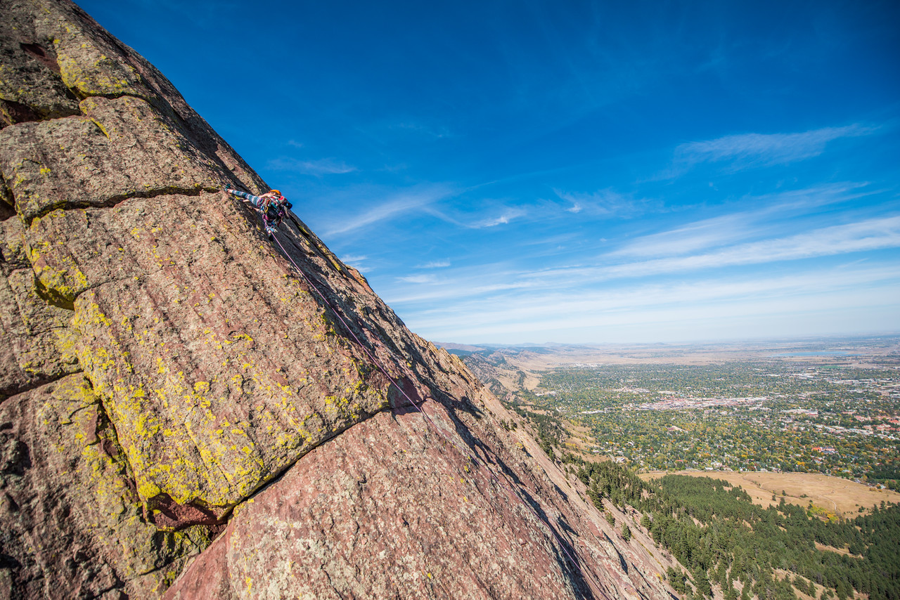 the; 3rd; Flat; Iron; Boulder; 115; Adventure; Adventure Photography; Boulder; CO; Colorado; Favorite things; Flat Irons; Gabe DeWitt; October; People; Places; Rock Climbing; adventure sports; climbers; climbing; rocks