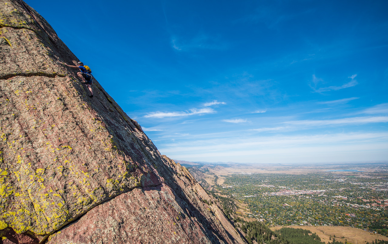 Adventure; Adventure Photography; Alex Zachrel; Boulder; CO; Colorado; Favorite things; Flat Irons; Gabe DeWitt; October; People; Places; Rock Climbing; adventure sports; climbers; climbing; rocks
