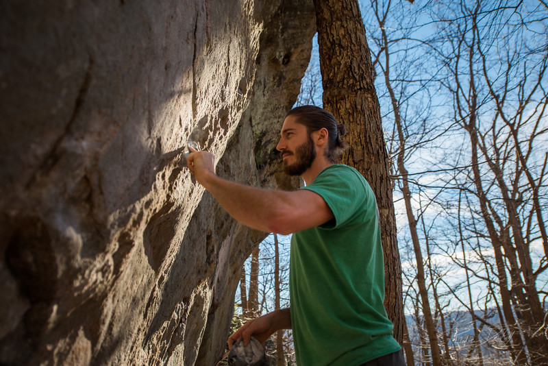 Warm-December-Day-Climbing-Bouldering-Coopers-Rock-WV-21