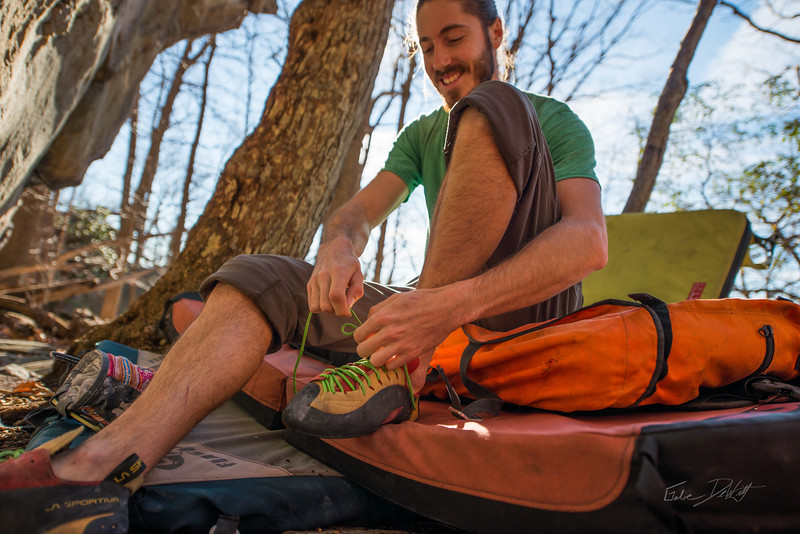 Warm-December-Day-Climbing-Bouldering-Coopers-Rock-WV-13