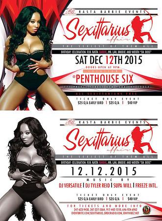 """12/12/15 Sexiitarius Affair """"Uncut"""""""