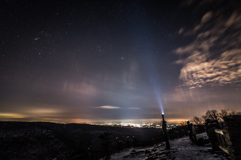 Coopers Rocks_Cross Country Skiing_Light Pilars_Winter_West Virginia_photo by Gabe DeWitt_February 20, 2015-100