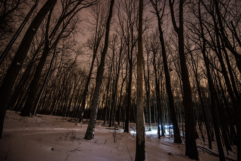 Coopers Rocks_Cross Country Skiing_Light Pilars_Winter_West Virginia_photo by Gabe DeWitt_February 21, 2015-146