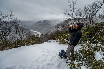 Cross Country Skiing_Snake Hill_West Virginia_photo by Gabe DeWitt_February 21, 2015-14