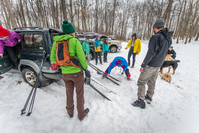 Cross Country Skiing_Snake Hill_West Virginia_photo by Gabe DeWitt_February 21, 2015-3