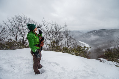 Cross Country Skiing_Snake Hill_West Virginia_photo by Gabe DeWitt_February 21, 2015-9