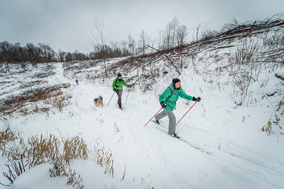 Cross Country Skiing_Snake Hill_West Virginia_photo by Gabe DeWitt_February 21, 2015-6