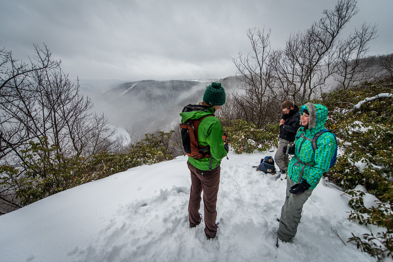Cross Country Skiing_Snake Hill_West Virginia_photo by Gabe DeWitt_February 21, 2015-19