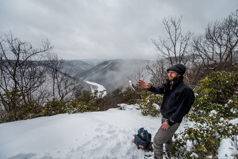 Cross Country Skiing_Snake Hill_West Virginia_photo by Gabe DeWitt_February 21, 2015-11