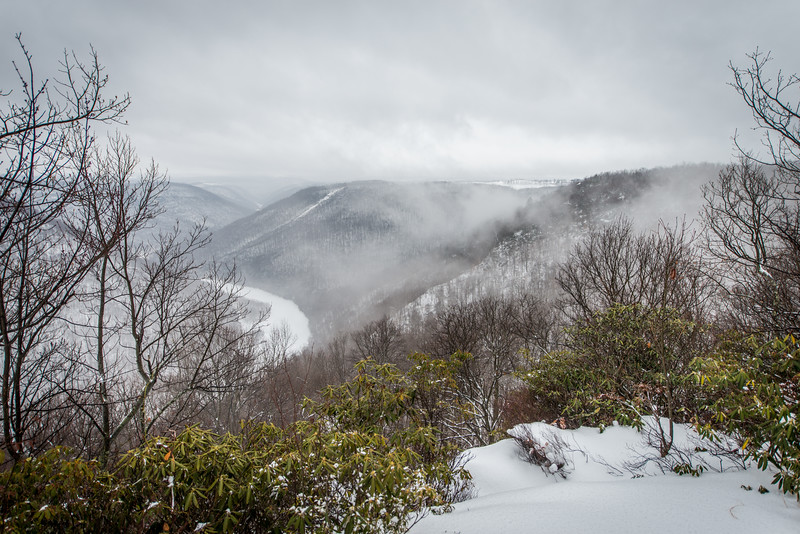 Cross Country Skiing_Snake Hill_West Virginia_photo by Gabe DeWitt_February 21, 2015-15