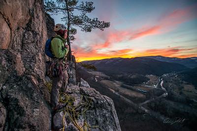 Climbing_Seneca Rocks_West Virginia_photo by Gabe DeWitt_February 07, 2015-181
