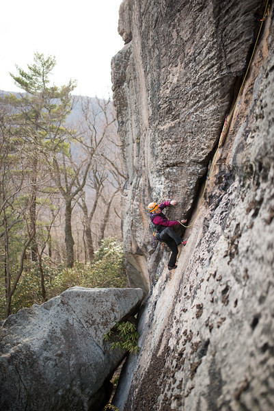Trad_Climbing_Coopers_Rock_West_Virginia_photo_by_Gabe DeWitt_March 29, 2015_40