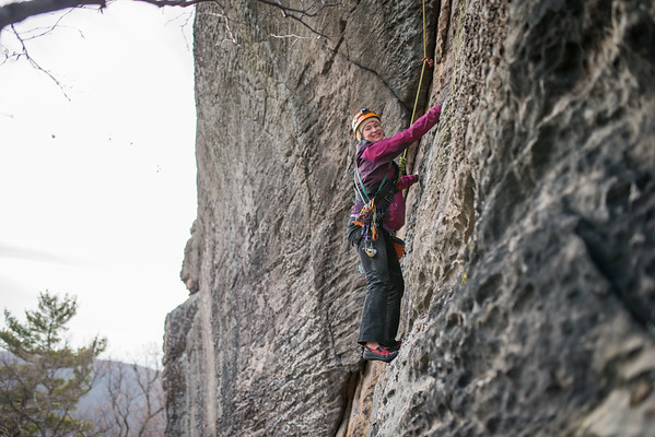 Trad_Climbing_Coopers_Rock_West_Virginia_photo_by_Gabe DeWitt_March 29, 2015_70
