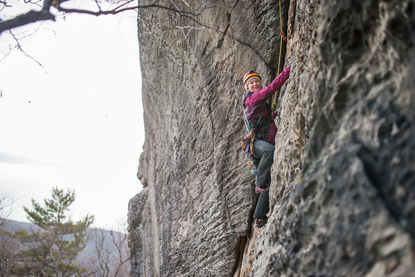 Trad_Climbing_Coopers_Rock_West_Virginia_photo_by_Gabe DeWitt_March 29, 2015_68