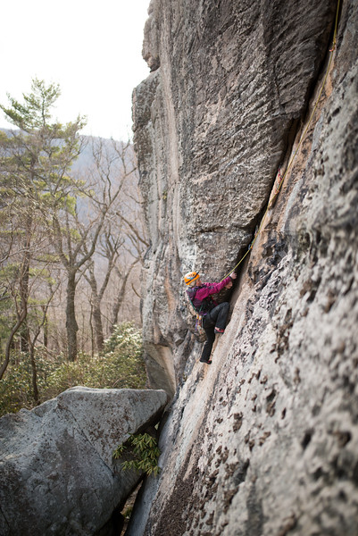 Trad_Climbing_Coopers_Rock_West_Virginia_photo_by_Gabe DeWitt_March 29, 2015_41