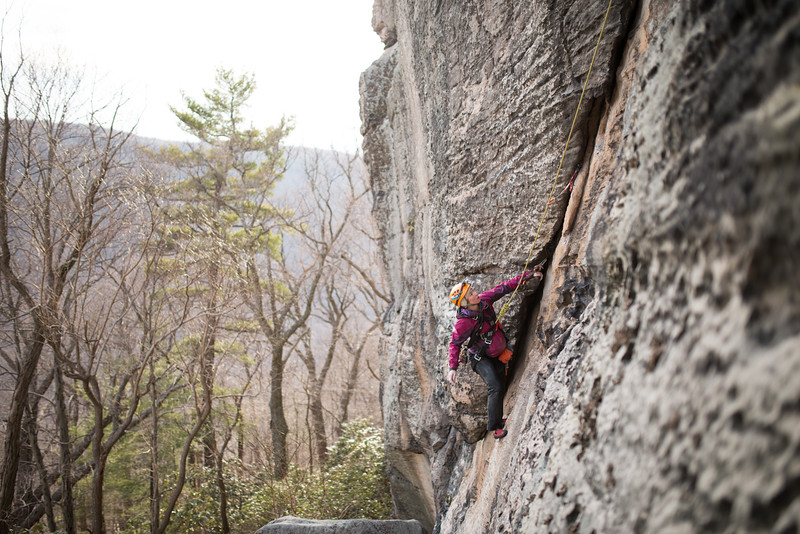 Trad_Climbing_Coopers_Rock_West_Virginia_photo_by_Gabe DeWitt_March 29, 2015_45