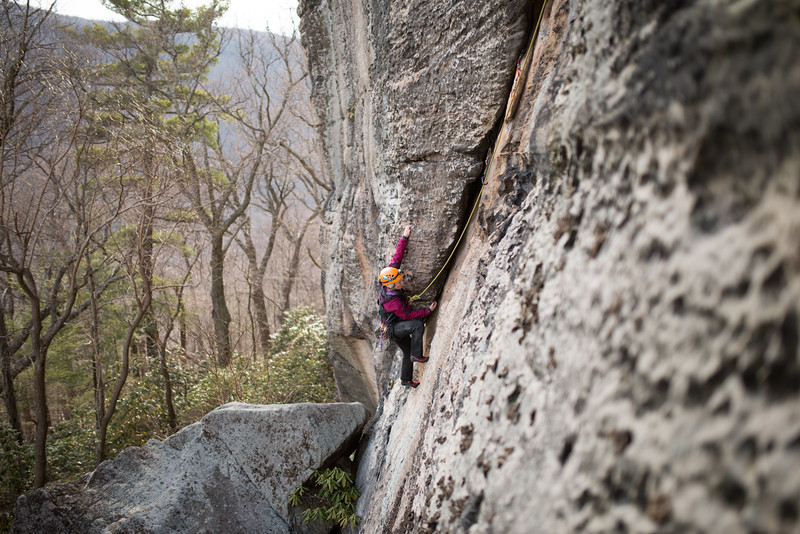 Trad_Climbing_Coopers_Rock_West_Virginia_photo_by_Gabe DeWitt_March 29, 2015_38