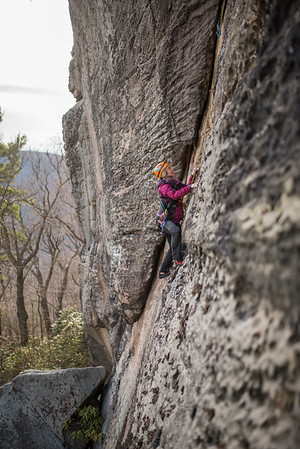 Trad_Climbing_Coopers_Rock_West_Virginia_photo_by_Gabe DeWitt_March 29, 2015_51