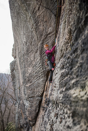 Trad_Climbing_Coopers_Rock_West_Virginia_photo_by_Gabe DeWitt_March 29, 2015_64