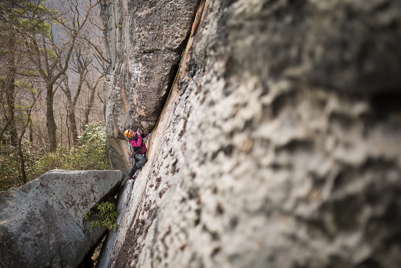 Trad_Climbing_Coopers_Rock_West_Virginia_photo_by_Gabe DeWitt_March 29, 2015_20