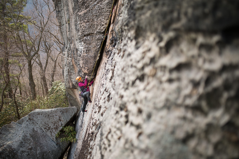 Trad_Climbing_Coopers_Rock_West_Virginia_photo_by_Gabe DeWitt_March 29, 2015_28