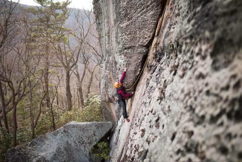 Trad_Climbing_Coopers_Rock_West_Virginia_photo_by_Gabe DeWitt_March 29, 2015_36