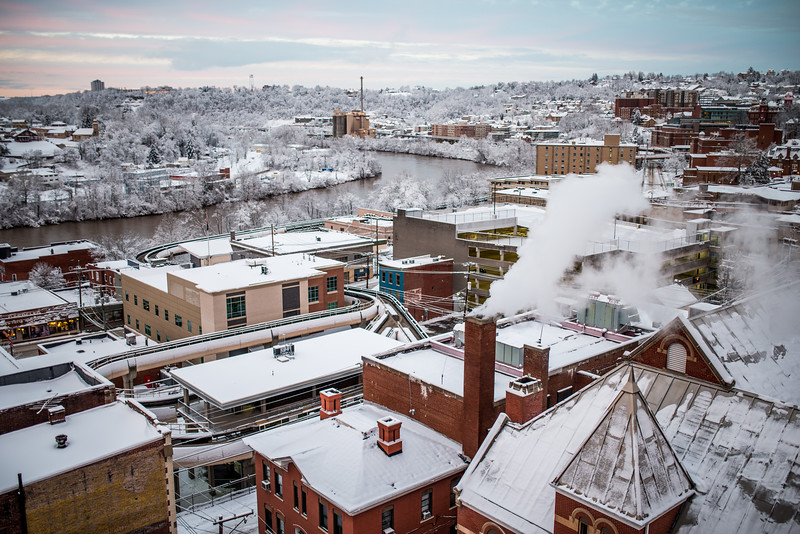 Wild West Virginia Weather; Snow; Day; Morgantown; West; Virginia; photo; Gabe; DeWitt; March; 2015; Buildings; City; Favorite things; Morgantown; Places; Seasons; Snow; Snow Day; West Virginia; Winter; by Gabe DeWitt