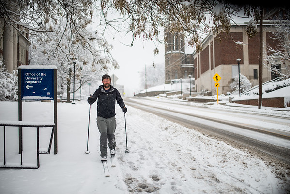 Snow Day_Cross Country Skiing_WVU_West Virginia_photo by Gabe DeWitt_March 05, 2015-2
