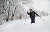Snow Day_Cross Country Skiing_Dorseys Knob_West Virginia_photo by Gabe DeWitt_March 05, 2015-45