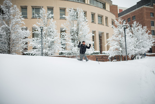 Snow Day_Cross Country Skiing_WVU_West Virginia_photo by Gabe DeWitt_March 05, 2015-52