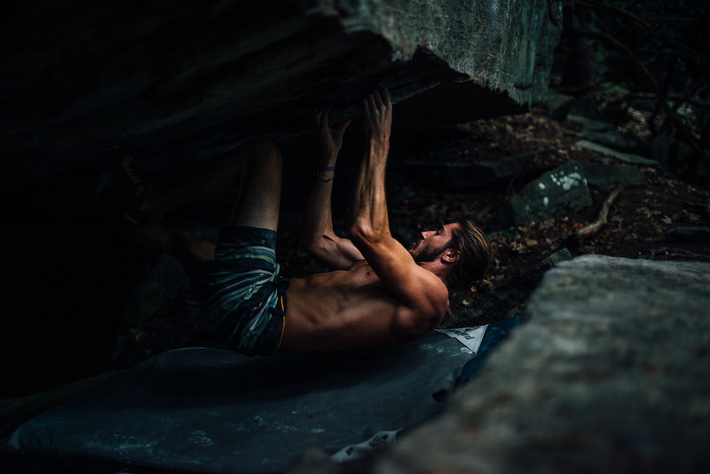 Dylan-Jones-Bouldering-Coopers-Rock-WV_August_25_2015_72