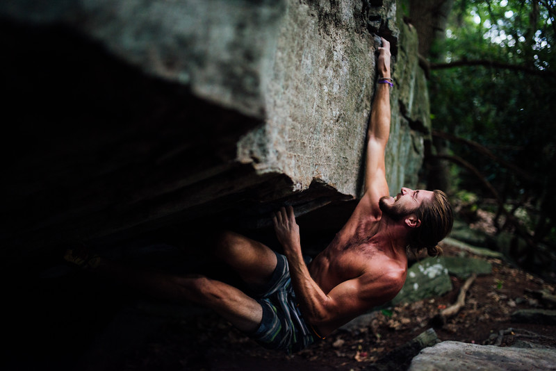Dylan-Jones-Bouldering-Coopers-Rock-WV_August_25_2015_78-5