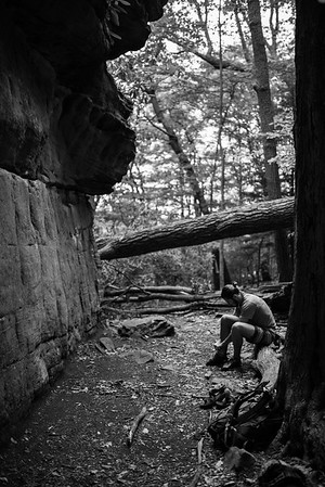 Dylan-Jones-Bouldering-Coopers-Rock-WV_August_25_2015_2