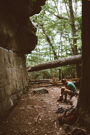 Dylan-Jones-Bouldering-Coopers-Rock-WV_August_25_2015_2-3