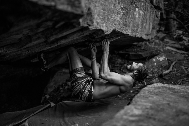 Dylan-Jones-Bouldering-Coopers-Rock-WV_August_25_2015_45