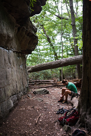 Dylan-Jones-Bouldering-Coopers-Rock-WV_August_25_2015_2-2