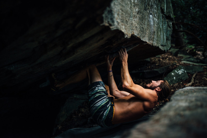 Dylan-Jones-Bouldering-Coopers-Rock-WV_August_25_2015_55