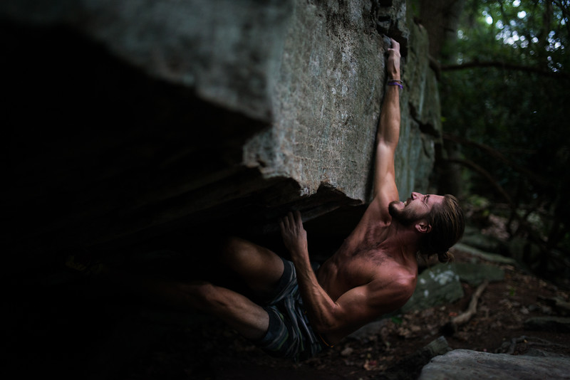 Dylan-Jones-Bouldering-Coopers-Rock-WV_August_25_2015_78