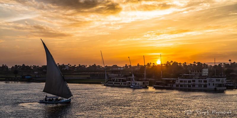 Nile at dusk #1