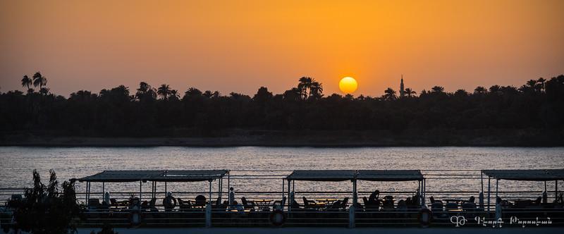 Sunset at Kom Ombo #1