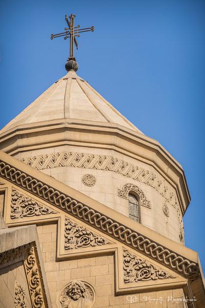 Armenian church dome in Cairo
