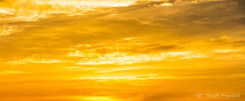 Sky in yellow #1