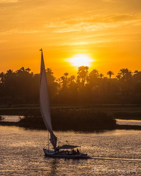 Nile at dusk #2