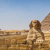 Sphinx and pyramids #1