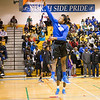 Twin Cites Basketball Championship - St. Paul Johnson Governors v Minneapolis North Polars at North High School, February 21, 2015