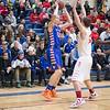 Benilde St. Margaret's v Minneapolis Washburn Basketball Class 3A Section 6 Semifinals at Washburn High School, February 28, 2015
