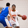 Minneapolis South v Hopkins Basketball Class 4A Section 6 Semifinals at Eden Prairie High School, February 28, 2015