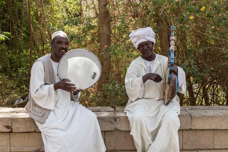 Musicians in Aswan