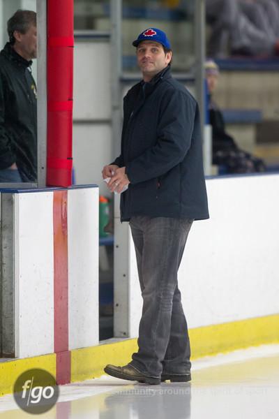Chaska Hawks v Minneapolis Novas Boys Hockey at Parade Ice Garden 3 January 2015